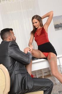 Horny Secretary Tina Kay Assfucked By Her Boss-00