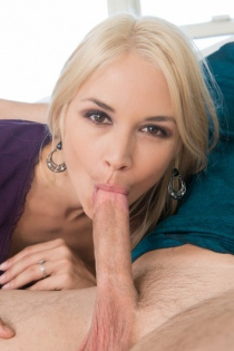 Busty Mommy Sarah Vandella Gives A Hot Blowjob - Dirty Gallery