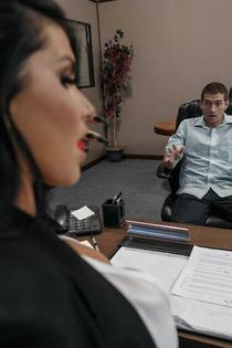 Horny Boss Romi Rain Fucks In Her Office-01