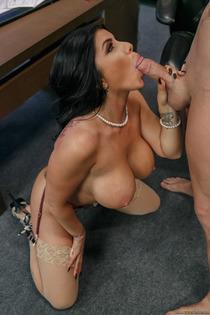 Horny Boss Romi Rain Fucks In Her Office-18