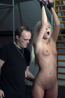 Sexy Blonde In Kinky Hardcore Action-12