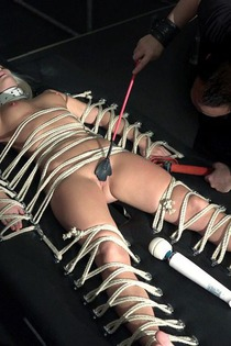Sexy Blonde In Kinky Hardcore Action-13