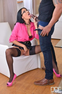 Black Haired Anissa Kate Gets Hardcore Interracial Fuck-00