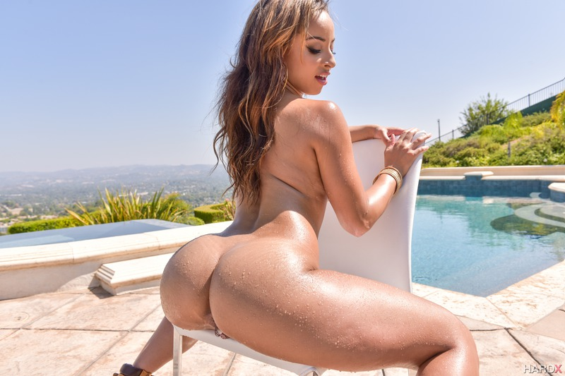 Hot Latina Ass By The Pool 12