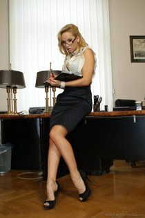 Office Sluts Aleska Diamond-13