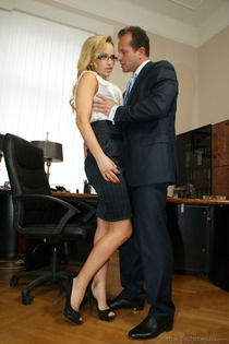 Office Sluts Aleska Diamond-16
