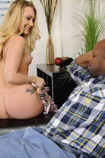 Awesome Interracial With Hot Blonde Pornstar-00