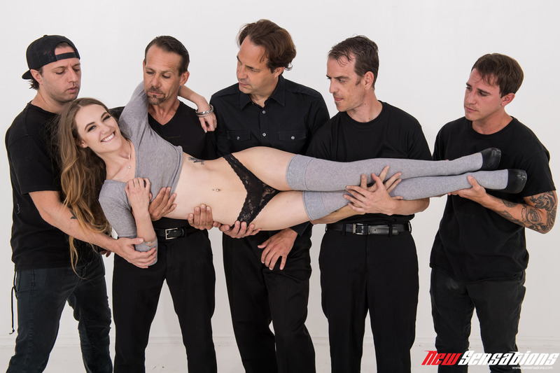 Dirty Girl Samantha Hayes In Oral Gangbang Party 1