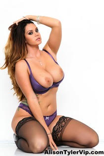 Alison Tyler In Sexy Purple Silk-05