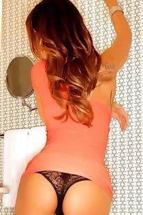 Sandee Westgate Posing In Bathroom