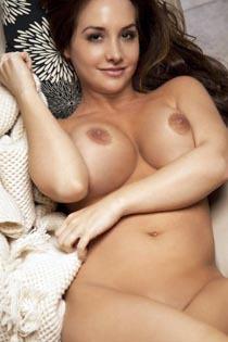 Danielle Robinson Pink Lingerie Strip