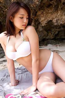 Ai Shinozaki In Sexy White Bikini