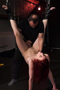 Sexy Amateur Redhead Slut In Kinky Hardcore Action