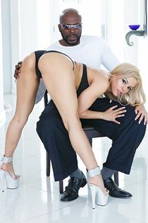 Blonde Luna Star In Interracial Hardcore Sex