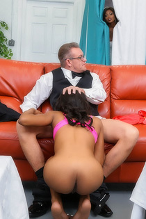 Indigo Vanity Fucks With Her Stepdad On The Wedding