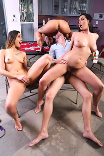 Gina Valentina And Her Girlfriends Fucking For Money