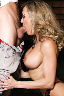 Brandi Love Likes To Cum Big Cocks