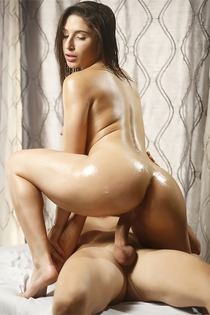 Abella Gets A Hot Oil Rubdown