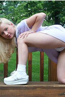 Park Day Panty Teen Tease-10