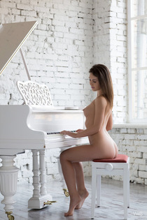 Victory Nude By The Piano-17
