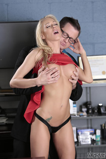 Katie Morgan Horny Secretary Makes Love In The Office-05