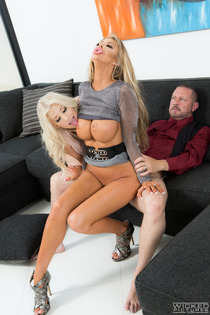 Courtney Taylor Shares A Cock With Cristi Ann-10